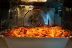 Pâtes cuites au four Photos stock