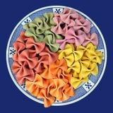 Pâtes d'Italien de Farfalle Photo stock