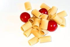 Pâtes d'Italien de macaronis photo stock