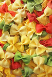 Pâtes de Farfalle Image stock
