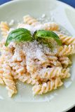 Pâtes de Fusilli Photos stock