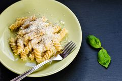 Pâtes de Fusilli Photo stock