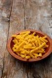 Pâtes de Fusilli Photo stock