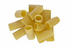 Pâtes de Paccheri Image libre de droits