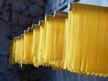 Pâtes de séchage Image stock