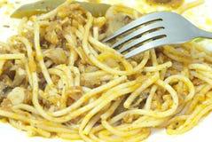 Pâtes de Spagetti Photo stock