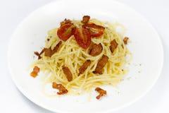 Pâtes de spaghetti Photographie stock