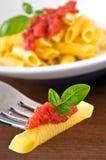 Pâtes italiennes Photos libres de droits
