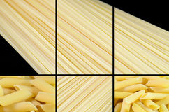 Pâtes italiennes Image stock