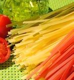 Pâtes italiennes Photographie stock libre de droits