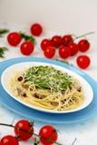 Pâtes italiennes. Photo libre de droits