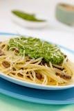 Pâtes italiennes. Image stock