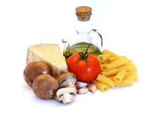 Pâtes italiennes Photo libre de droits