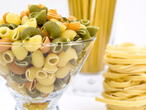 Pâtes italiennes. Images stock