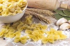 Pâtes italiennes Images libres de droits