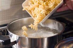 Pâtes italiennes de nourriture de macaronis Photos libres de droits