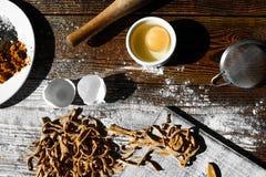 Pâtes italiennes faites maison Image libre de droits