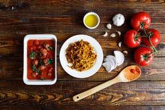 Pâtes italiennes faites maison Photo libre de droits