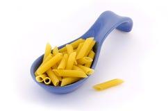 Pâtes italiennes sur une pile Photo stock