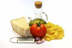Pâtes, la voie italienne Photos stock