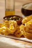 pâtes toujours italiennes de durée photo stock