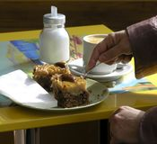 Pâtisserie Image libre de droits
