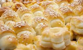 Pâtisserie assortie Images libres de droits