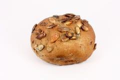 Pâtisserie avec des graines de citrouille Photos stock