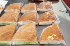 Pâtisserie avec la noix de coco Photographie stock