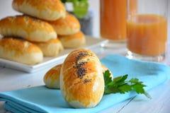Pâtisserie avec la pomme de terre Image stock
