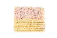 Pâtisserie chaude de grille-pain de fraise Photo libre de droits