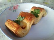 Pâtisserie chinoise Image libre de droits