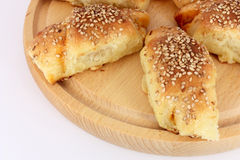 Pâtisserie cuite au four fraîche Photographie stock