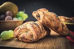 Pâtisserie cuite au four fraîche Image stock