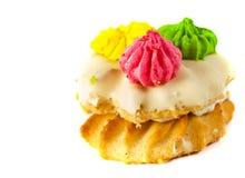 Pâtisserie décorée Photo libre de droits