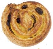 Pâtisserie danoise - spirale Photos stock