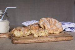Pâtisserie de bonbon à Breakfest image stock