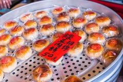 Pâtisserie de fèves de mung photos libres de droits
