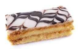 Pâtisserie de Mille Feuille ou de Napolean Photos stock
