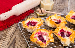 Pâtisserie de pâtisserie de filo image libre de droits