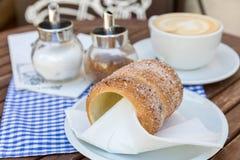 Pâtisserie de Trdelnik photo stock