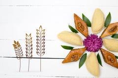 Pâtisserie de vacances de Novruz Photographie stock