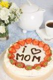 Pâtisserie du jour de mère Photos libres de droits