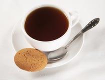 Pâtisserie et thé Image libre de droits