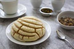 Pâtisserie et thé Images libres de droits