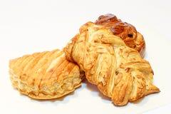 Pâtisserie fraîche de croissants Photo stock