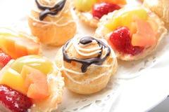 Pâtisserie française Images libres de droits