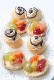 Pâtisserie française Photos libres de droits