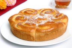 Pâtisserie française de levure Photographie stock libre de droits