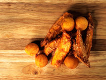 Pâtisserie frite Images stock